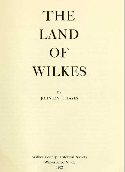 'The Land of Wilkes'